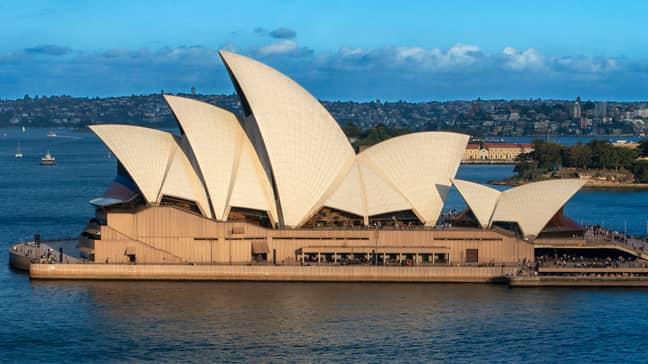 The Sydney Opera House. Credit: PA