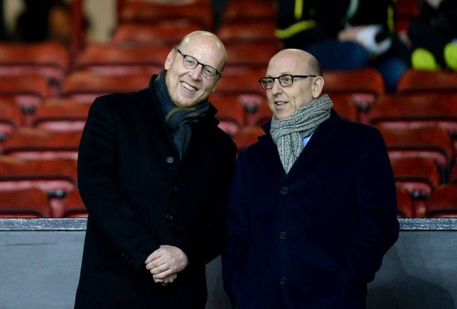 Joel and Avram Glazer at Old Trafford. Image: PA Images