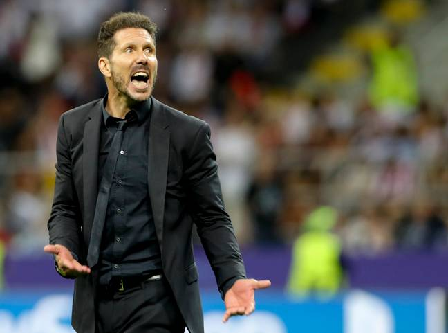 Simeone holds two recent wins over Klopp. Image: PA Images