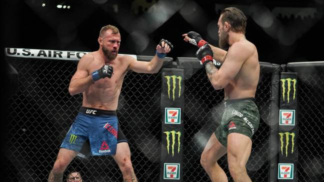 McGregor beat Cerrone at 170lbs earlier this year. Image: PA Images