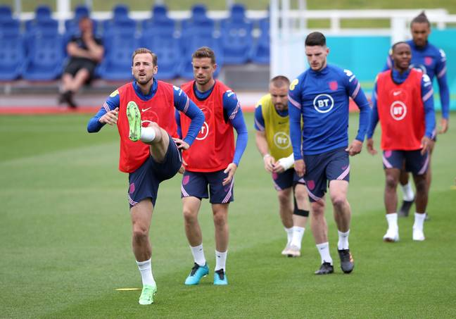 England are among the hotly-tipped favourites to win Euro 2020
