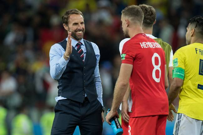 Henderson and Southgate. Image: PA Images