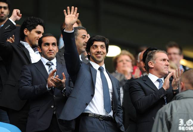 Mansour is rarely seen at City. Image: PA Images