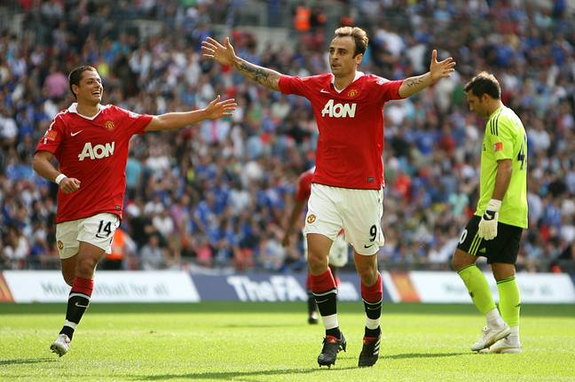 Berbatov became a fan favourite at Old Trafford. Image: PA Images