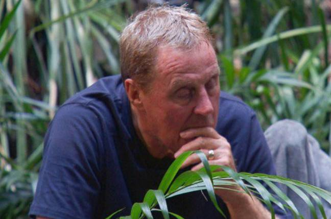 Redknapp contemplating what he can offer the tv execs for a swap deal for roly poly. Image: ITV