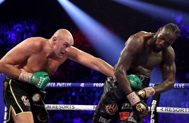 Tyson Fury stopped Deontay Wilder in the seventh round last time out
