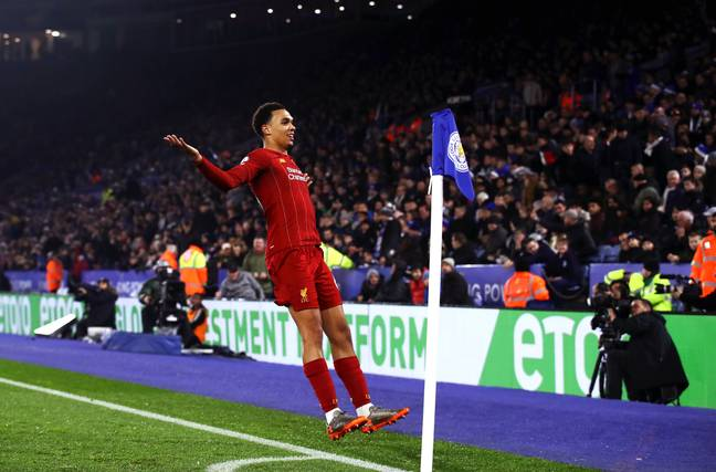 Trent Alexander-Arnold put on a masterclass as Liverpool thrashed Leicester