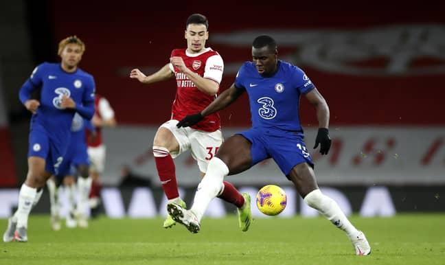 Zouma started 22 league games for Chelsea last season. Image: PA Images