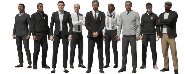 They'll be a wide array of manager 'looks' this year. Image: EA Sports