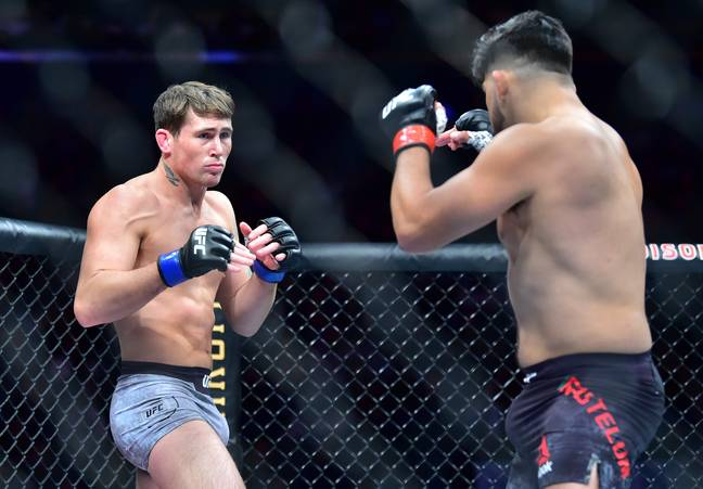 British fight Darren Till was given a 30 day medical suspension after his win over Kelvin Gastelum. Image: PA Images