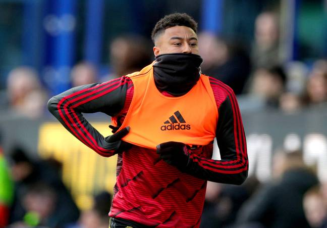 Jesse Lingard has fallen down the pecking order under Ole Gunnar Solskjaer and will be a free agent next summer. Image: PA