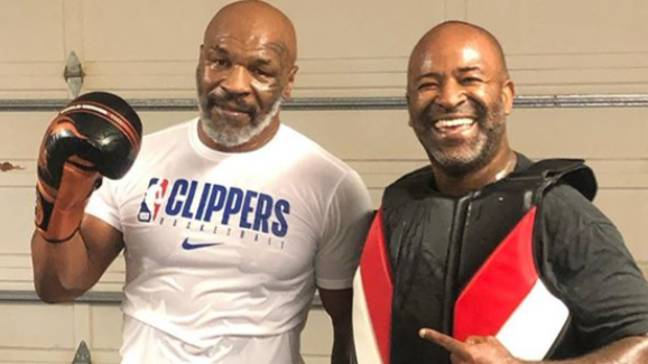 Mike Tyson Shows Off Body Transformation After Training To Reenter The Ring