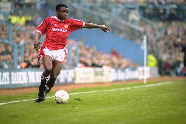 Paul Parker played for Manchester United for five years between 1991 and 1996