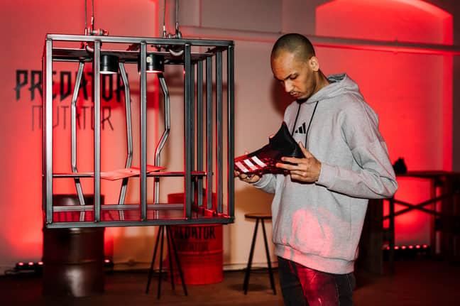 Fabinho spoke to SPORTbible at the launch of the new Adidas Predator Mutator