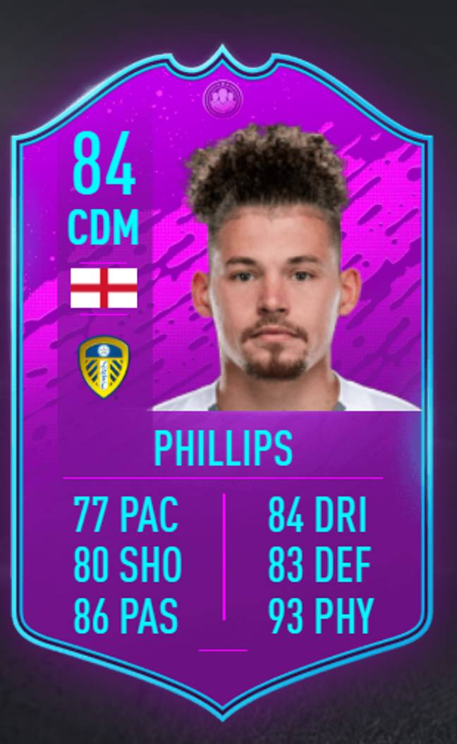 Phillips' new card would fit into any team. (Image Credit: FUTHead)