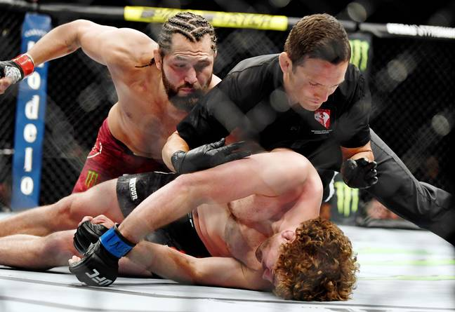 Askren was knocked out by Jorge Masvidal in the fastest ever UFC KO. Credit: PA