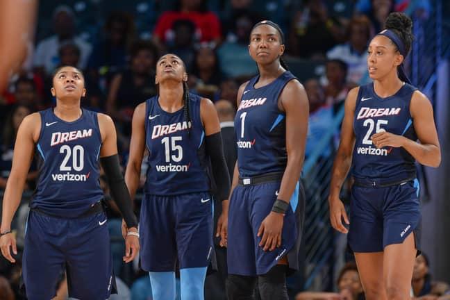 WNBA's Atlanta Dream. Credit: PA