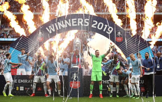 Manchester City won last season's FA Cup. Image: PA Images
