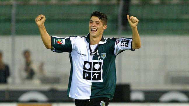 Ronaldo came through the academy system at Sporting Lisbon and made 31 senior appearances for the Portuguese side