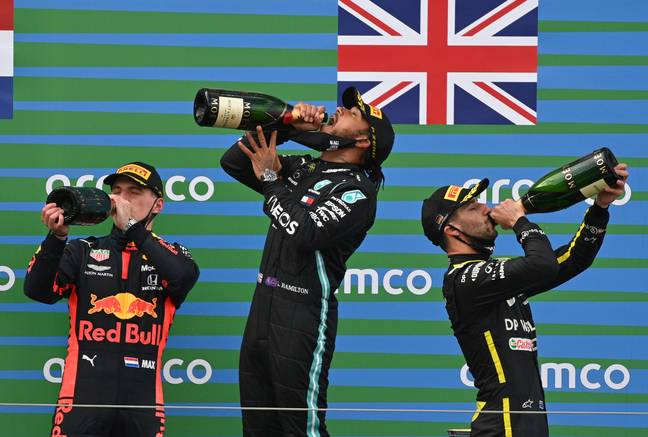 Ricciardo recently ended his two-year podium drought. Credit: PA