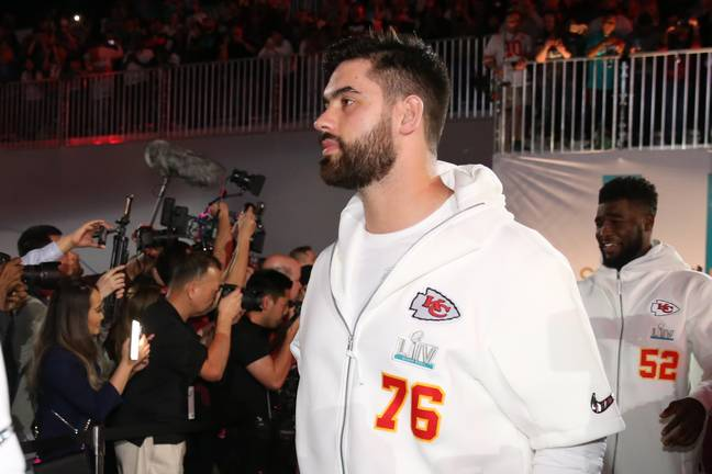 After helping his side win the Super Bowl last year, Laurent Duvernay-Tardif has been a huge miss for the Chiefs. Image: PA Images