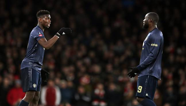 Pogba, left, stayed at the club but Lukaku, right, has left for Serie A. Image: PA Images