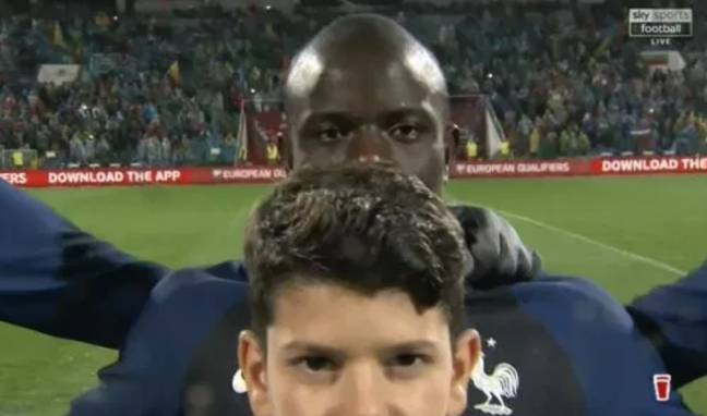 N'Golo Kante was once given a mascot a similar height to him before a France game