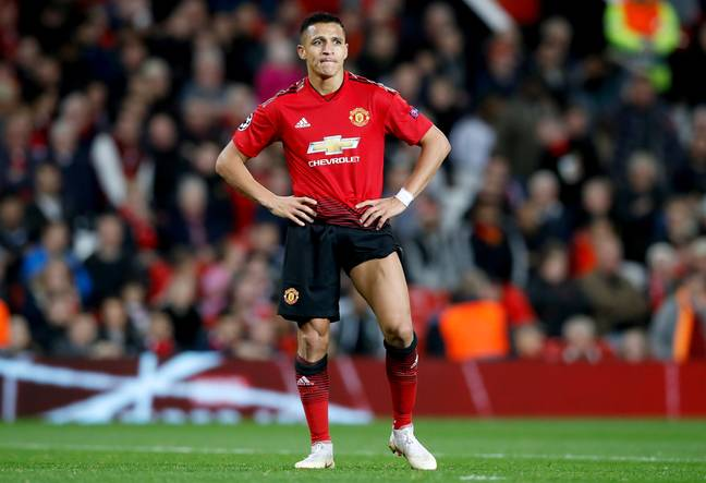 Alexis Sanchez is currently with Inter Milan on loan from Manchester United. (Image Credit: PA)