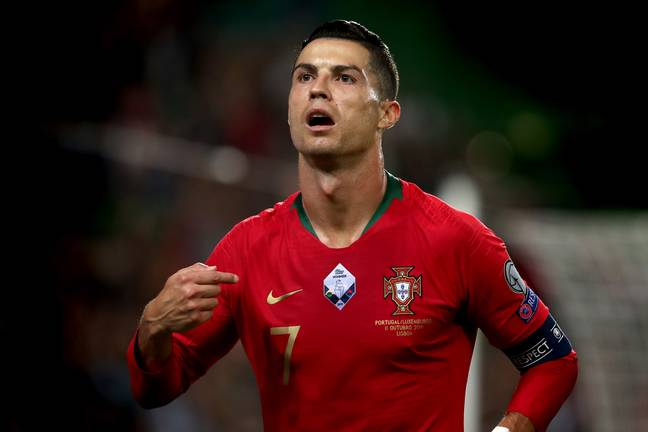 Ronaldo is getting closer to Ali Daei's record. Image: PA Images