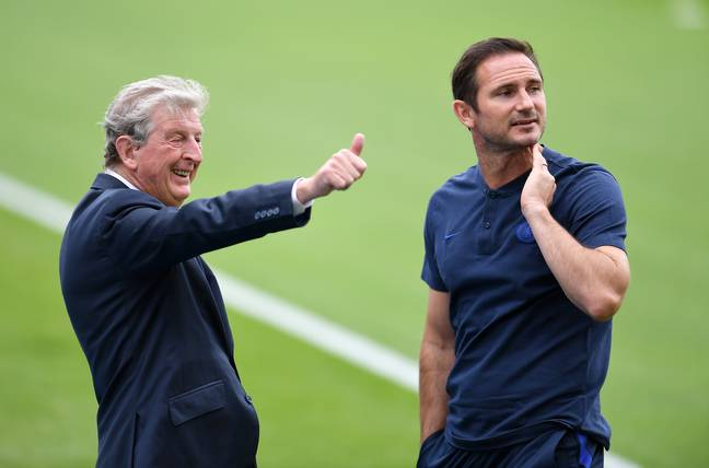 Frank Lampard is the red hot favourite to replace Roy Hodgson at Crystal Palace