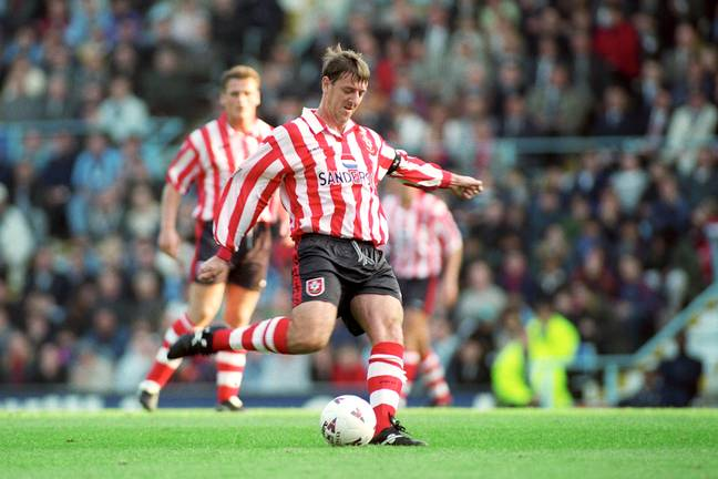 Le Tissier spent 16 years of his career with Southampton. (Image Credit: PA)