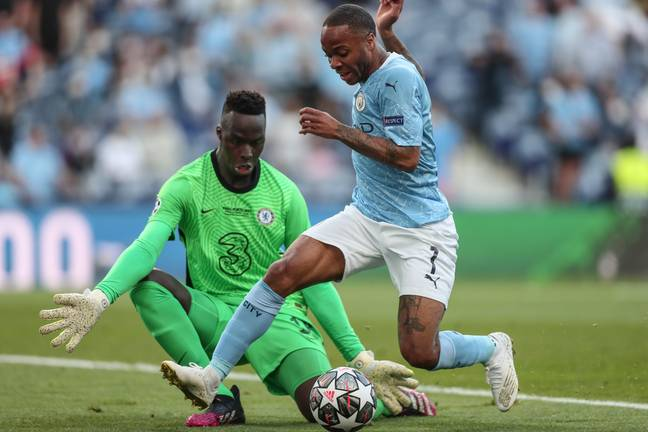 Sterling was a surprise inclusion in City's team. Image: PA Images