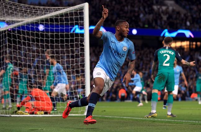 Sterling should still win a Player of the Year award. Image: PA Images