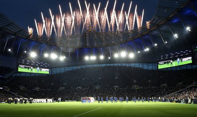 Tottenham's new ground opened with a bang. Image: PA Images