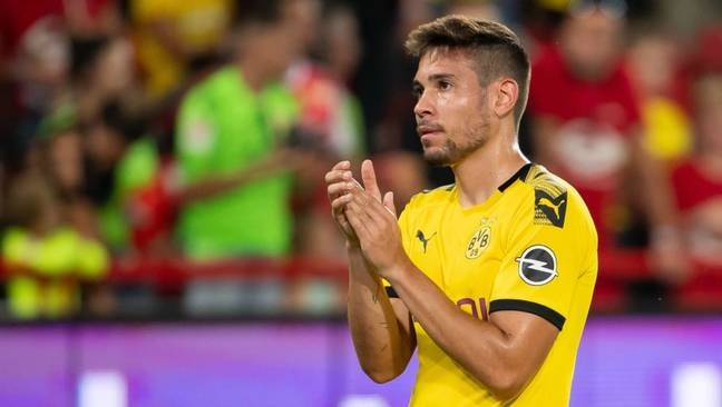 Real Madrid are said to be monitoring the progress of Raphael Guerreiro (Image: PA)