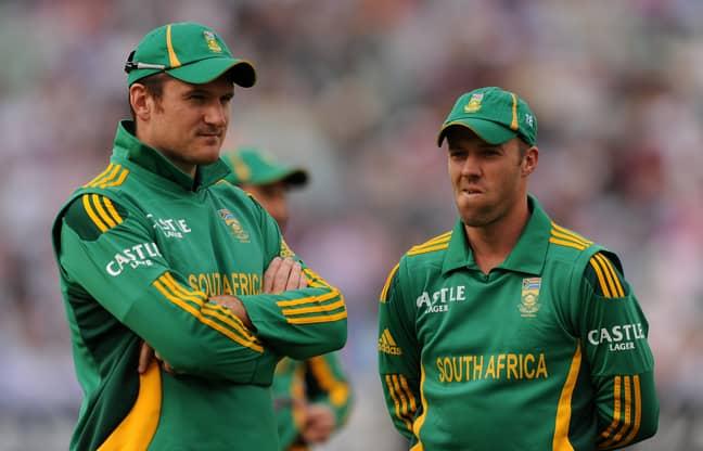 Graeme Smith and AB de Villiers. Credit: PA
