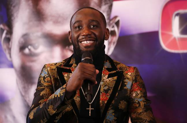 Crawford talks ahead of the fight. Image: PA Images