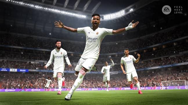 FIFA 21 (Image Credit: EA Sports)