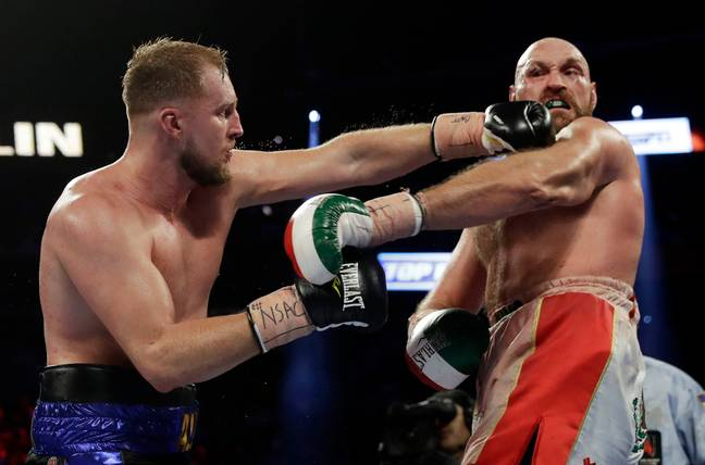 Tyson Fury was made to struggle by Otto Wallin at T-Mobile Arena