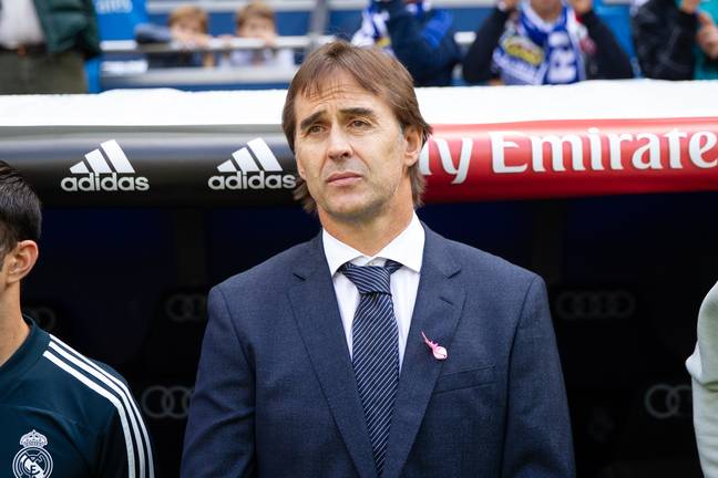 Lopetegui has not had a happy time in the Spanish capital so far. Image: PA Images