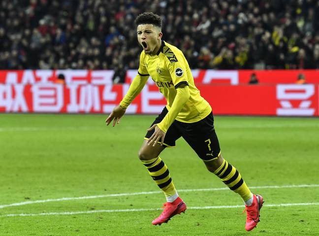 Sancho has been linked with a return to England and has been in supreme form again this season. Image: PA Images