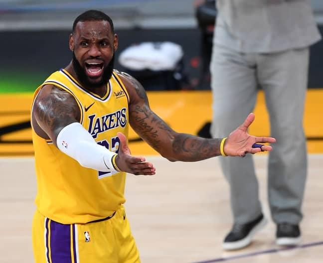 LeBron James. Credit: PA