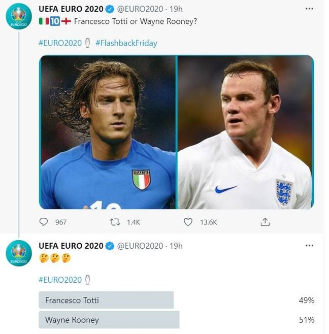 The poll is extremely close. Image: Twitter