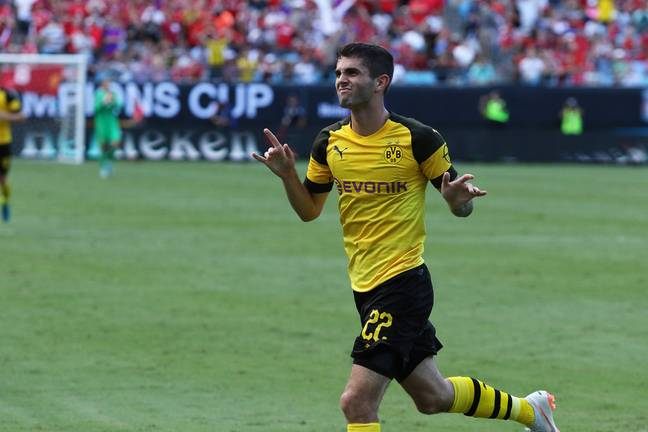 Pulisic is a very good player but needs time to get used to England. Image: PA