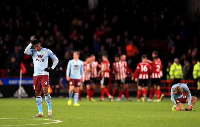 A lot could be on the line when Villa host Sheffield United. Image: PA Images