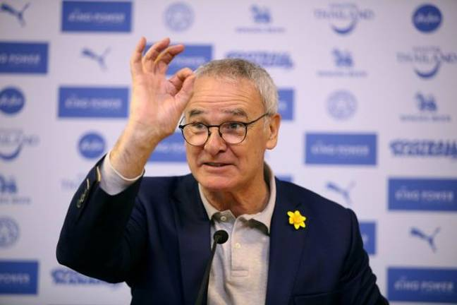 We're all excited to see Ranieri back. Image: PA Images
