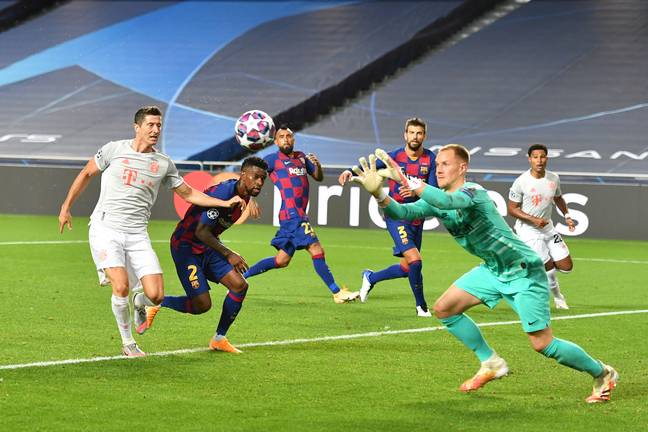 Ter Stegen has been one of the club's saviours and they need to keep hold of him. Image: PA Images