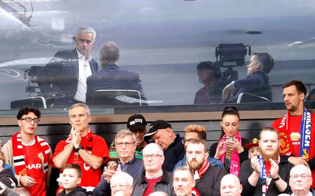 Mourinho has recently been paid to watch the football, working for Sky Sports. Image: PA Images