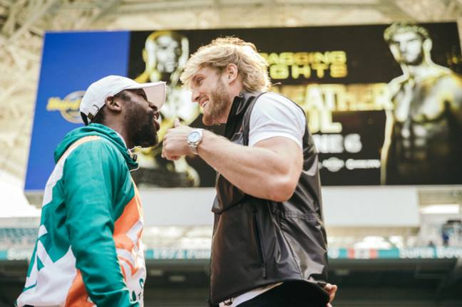 Fans in the UK will be dying to see what happens when Floyd Mayweather takes on Logan Paul