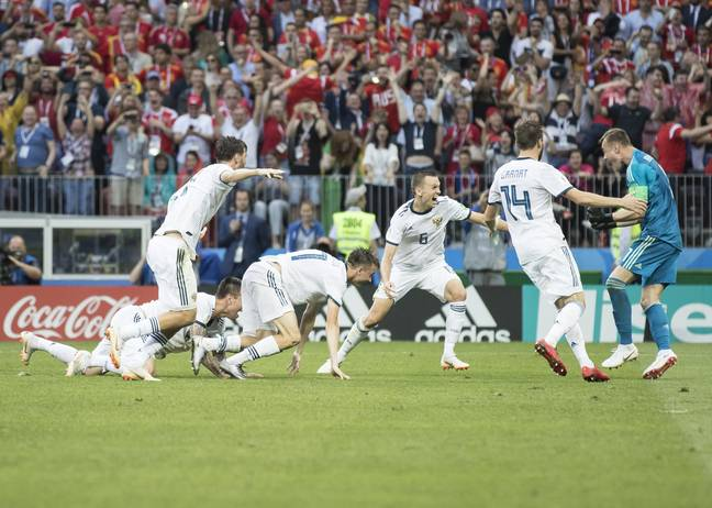 Hosts Russia did well at the last World Cup but wouldn't be called Russia even if they qualify as Russia in 2022, confusing. Image: PA Images